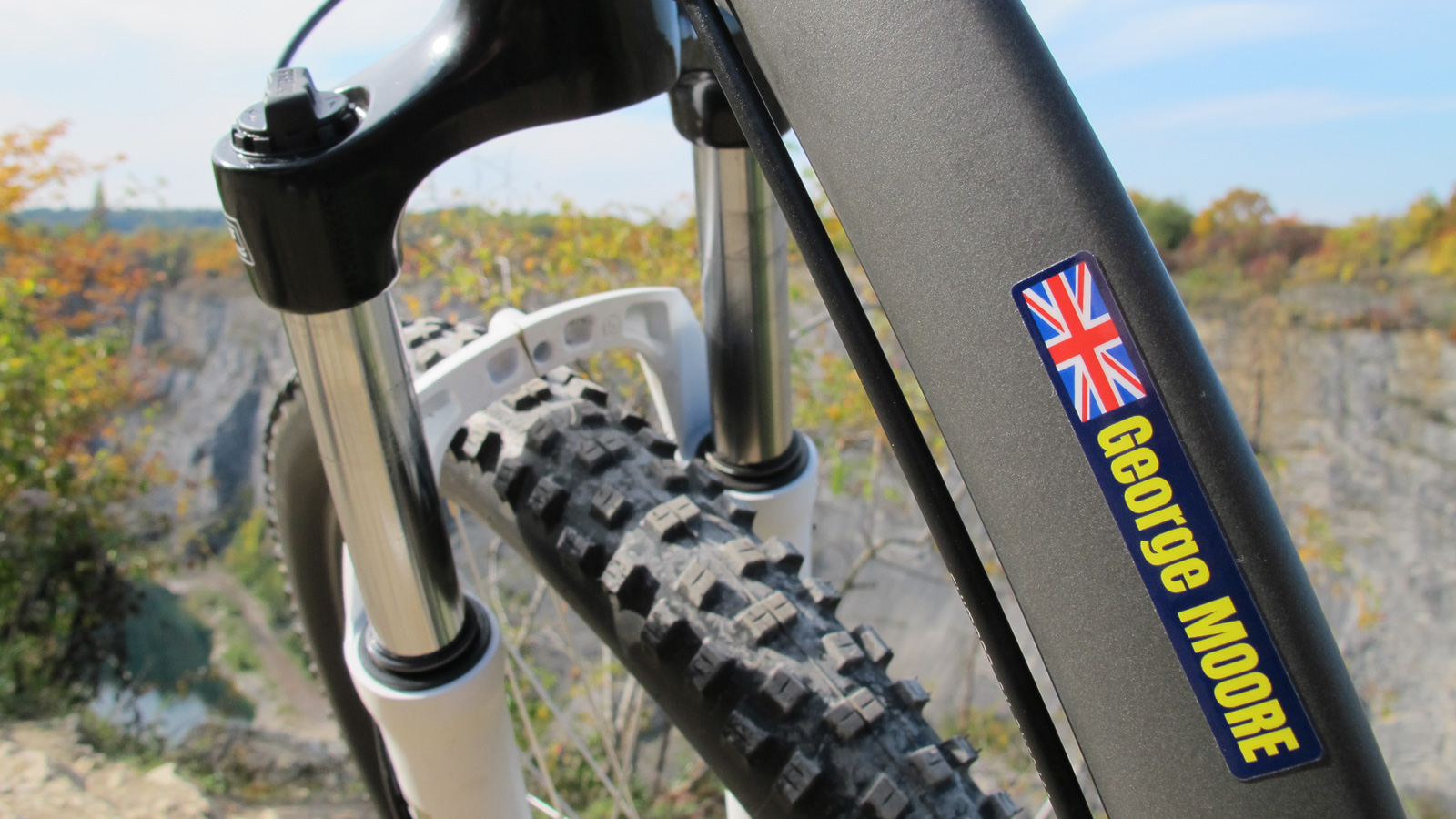 Bike bottle decals. Nice :)